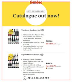 Cellarmasters catalogue ( 12 days left )
