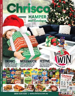 Christmas specials in the Chrisco Hampers catalogue ( More than one month)