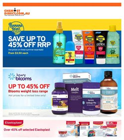 Offers from Chemist House Direct in the Sydney NSW catalogue
