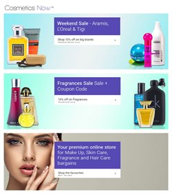 Offers from Cosmetics Now Australia in the Sydney NSW catalogue