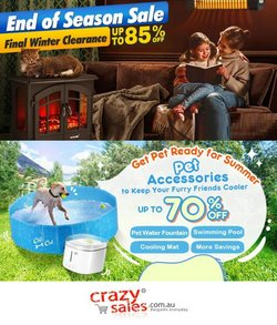Department Stores specials in the CrazySales catalogue ( 7 days left)