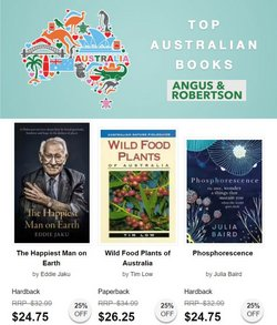 Books & Hobby specials in the Angus & Robertson catalogue ( 11 days left)