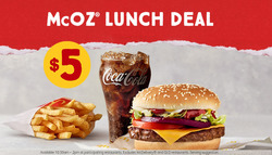 Restaurants offers in the McDonald's catalogue in Swan Hill VIC