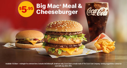 Offers from McDonald's in the Lakes Entrance VIC catalogue