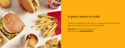 McDonald's coupon ( More than one month )
