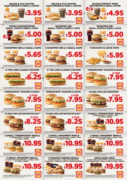 Offers from Hungry Jack's in the Perth WA catalogue