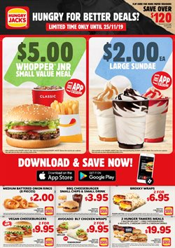 Offers from Hungry Jack's in the Brisbane QLD catalogue
