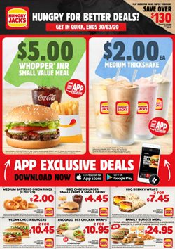 Hungry Jack's catalogue ( Expired )