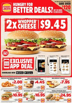 Hungry Jack's catalogue ( 26 days left )