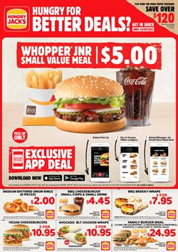 Hungry Jack's catalogue ( More than one month )