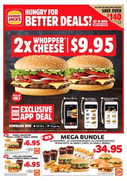 Restaurants offers in the Hungry Jack's catalogue in Wallan VIC ( More than one month )