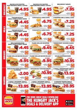 Restaurants offers in the Hungry Jack's catalogue ( 4 days left )
