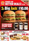Hungry Jack's catalogue in Brisbane QLD ( Expired )