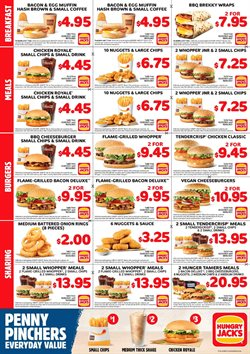 Restaurants offers in the Hungry Jack's catalogue ( More than one month )