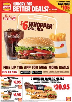 Hungry Jack's catalogue ( More than one month)
