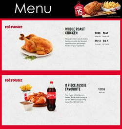 Restaurants offers in the Red Rooster catalogue in Sydney NSW