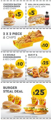 Restaurants offers in the Chicken Treat catalogue in Perth WA ( 3 days ago )