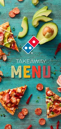 Restaurants offers in the Domino's Pizza catalogue in Canberra ACT
