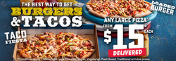 Domino's Pizza coupon ( Expires today )