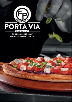 Restaurants specials in the Fasta Pasta catalogue ( More than one month)