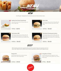 Restaurants specials in the Grill'd catalogue ( 1 day ago)