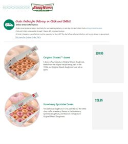 Restaurants offers in the Krispy Kreme catalogue in Sydney NSW ( Expires today )