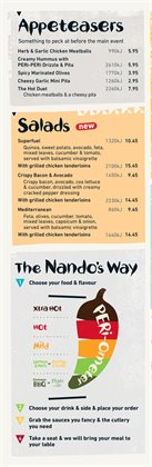 Restaurants offers in the Nando's catalogue in Sydney NSW