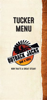 Restaurants offers in the Outback Jacks catalogue in Canberra ACT