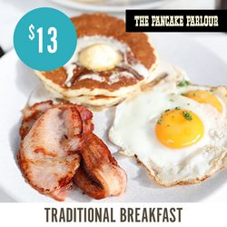 Restaurants specials in the The Pancake Parlour catalogue ( 5 days left)