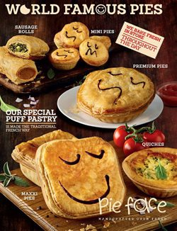 Offers from Pie Face in the Sydney NSW catalogue