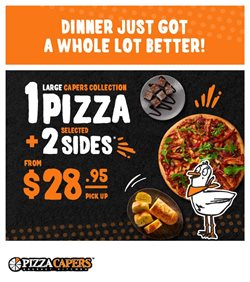 Pizza Capers catalogue ( 1 day ago )