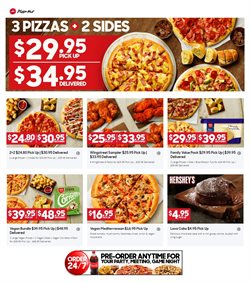 Restaurants offers in the Pizza Hut catalogue in Sydney NSW