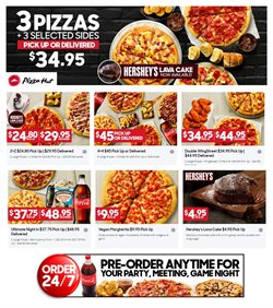 Restaurants offers in the Pizza Hut catalogue in Melbourne VIC ( Expires today )
