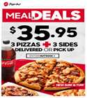 Pizza Hut catalogue ( Expires tomorrow )