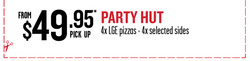 Offers from Pizza Hut in the Sydney NSW catalogue