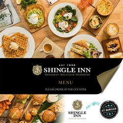 Offers from Shingle Inn in the Sydney NSW catalogue