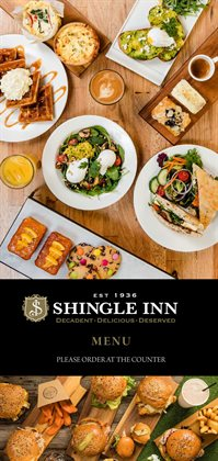 Restaurants specials in the Shingle Inn catalogue ( More than one month)