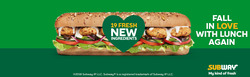 Offers from Subway in the Newman WA catalogue