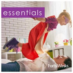 Homeware & Furniture offers in the Forty Winks catalogue in Swan Hill VIC