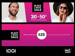 Black Friday specials in the 1001 Optical catalogue ( 4 days left)