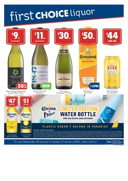Offers from First Choice Liquor in the Brisbane QLD catalogue