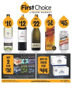 First Choice Liquor catalogue in Perth WA ( 10 days left )