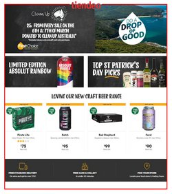 First Choice Liquor catalogue ( 1 day ago )