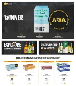 First Choice Liquor specials in the First Choice Liquor catalogue ( Expired)