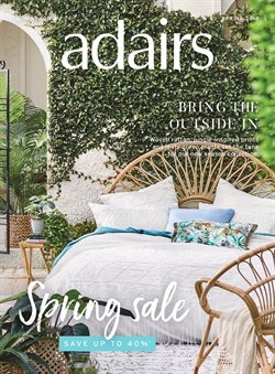 Offers from Adairs in the Melbourne VIC catalogue
