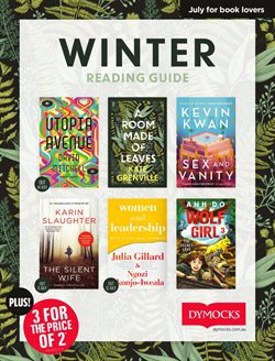 Dymocks catalogue ( More than one month )