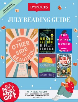 Books & Hobby specials in the Dymocks catalogue ( 14 days left)