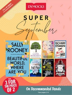 Books & Hobby specials in the Dymocks catalogue ( 11 days left)