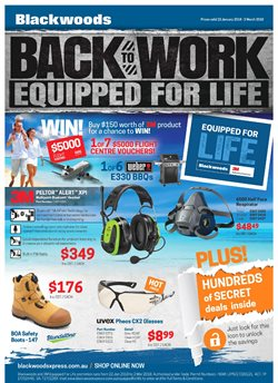 Garden, Tools & Hardware offers in the Blackwoods catalogue in Adelaide SA