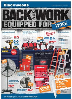 Offers from Blackwoods in the Melbourne VIC catalogue